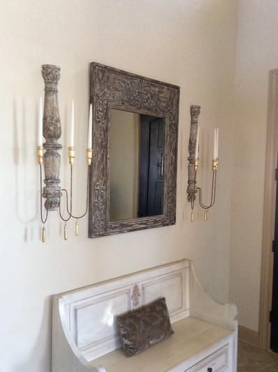 Valletta Candle Sconce   Candle wall sconces, Frame wall ... on Vintage Wall Sconce Candle Holder Decorating Ideas id=96681