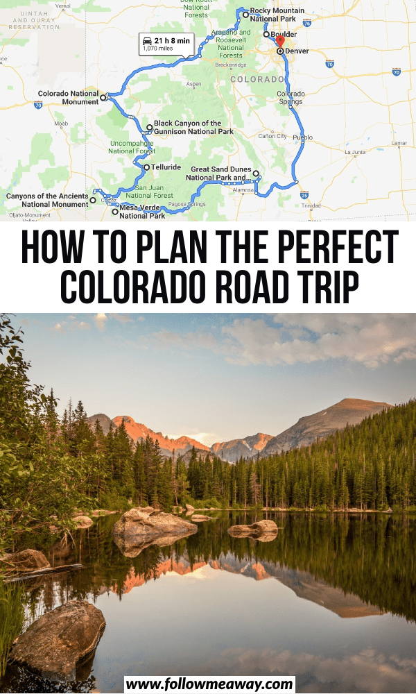 The Perfect Colorado Road Trip Itinerary You Should Steal - Follow Me Away