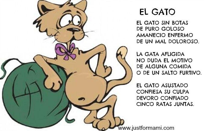 Rima para niños: El Gato - Just for Mami
