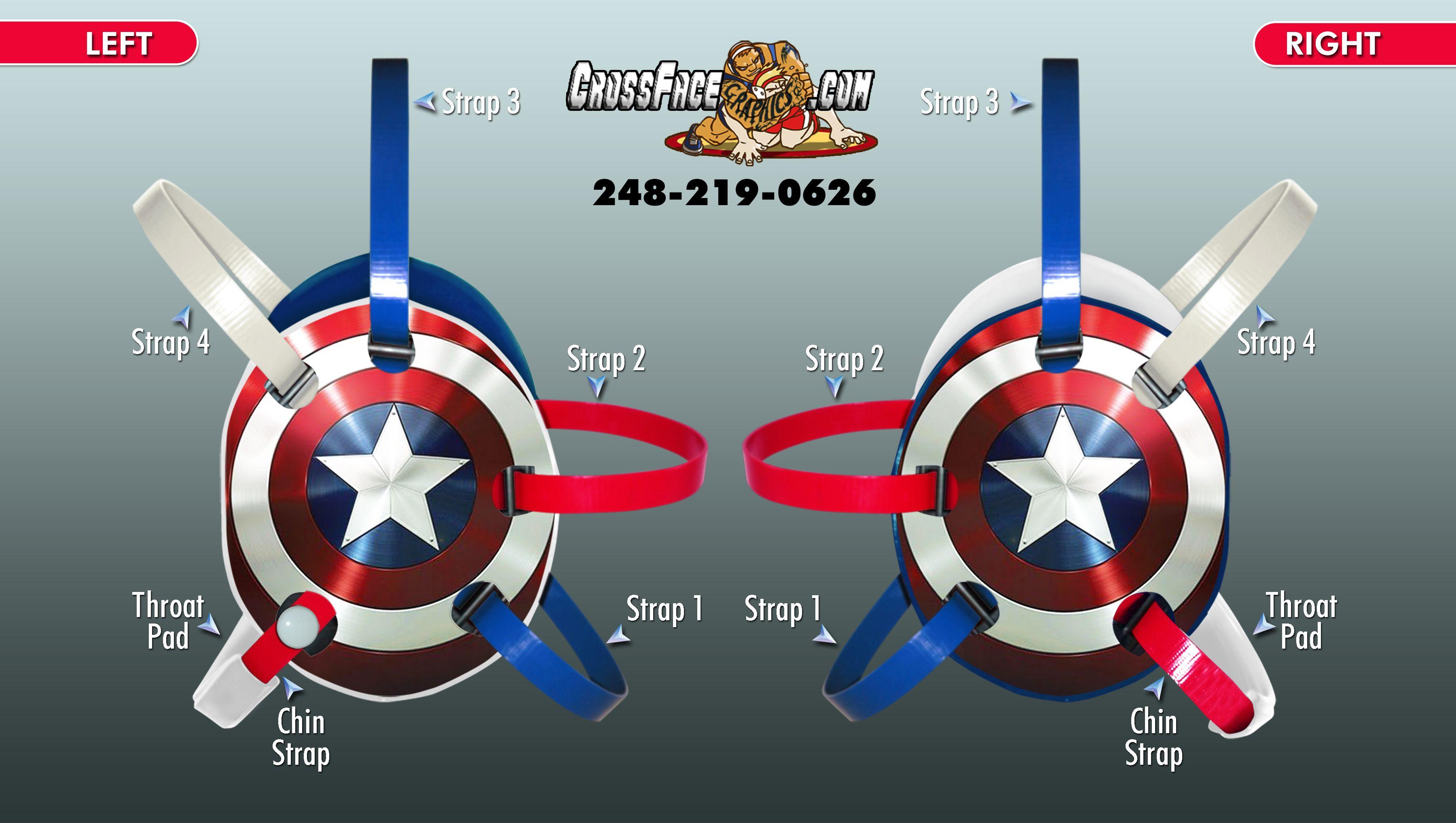 custom-headgear | Wrestling headgear