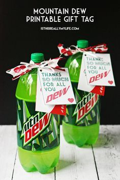 Mountain Dew Gift Quotes Just B Cause