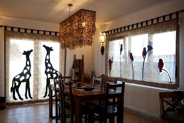 African Themed Interior Design from careCutare Africans