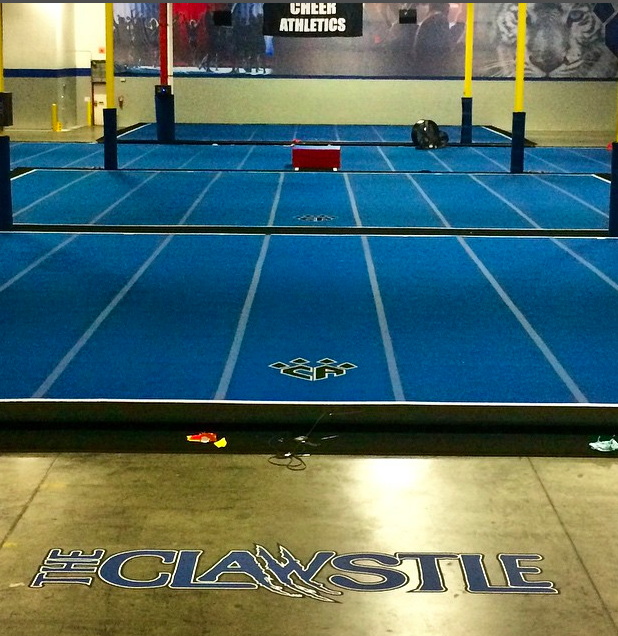 Cheer Athletics Charlotte to the Clawstle ladies