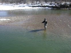 Trout fishing in Pueblo, CO, is good due to fish stocking, access and community collaboration.