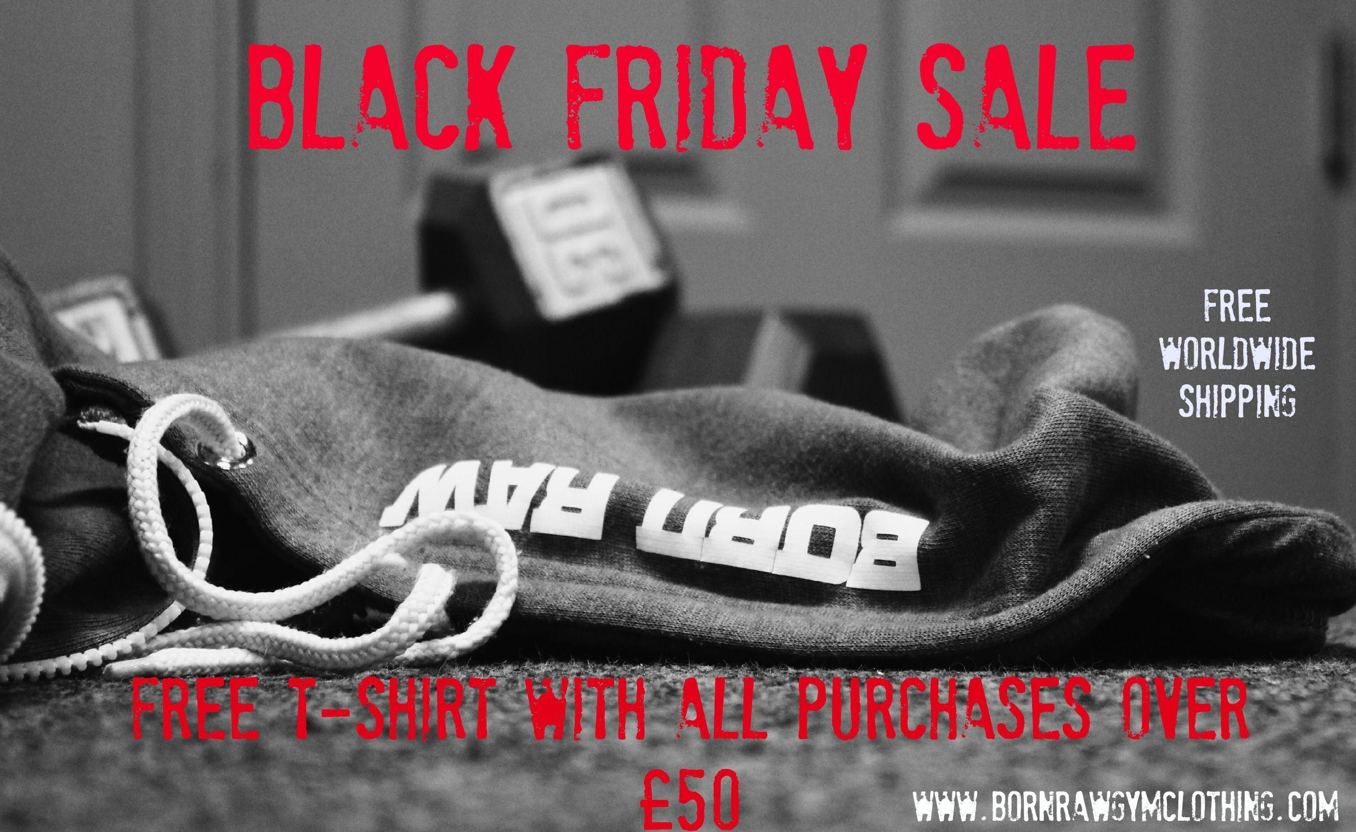 Black Friday sale at Born Raw Gym Clothing