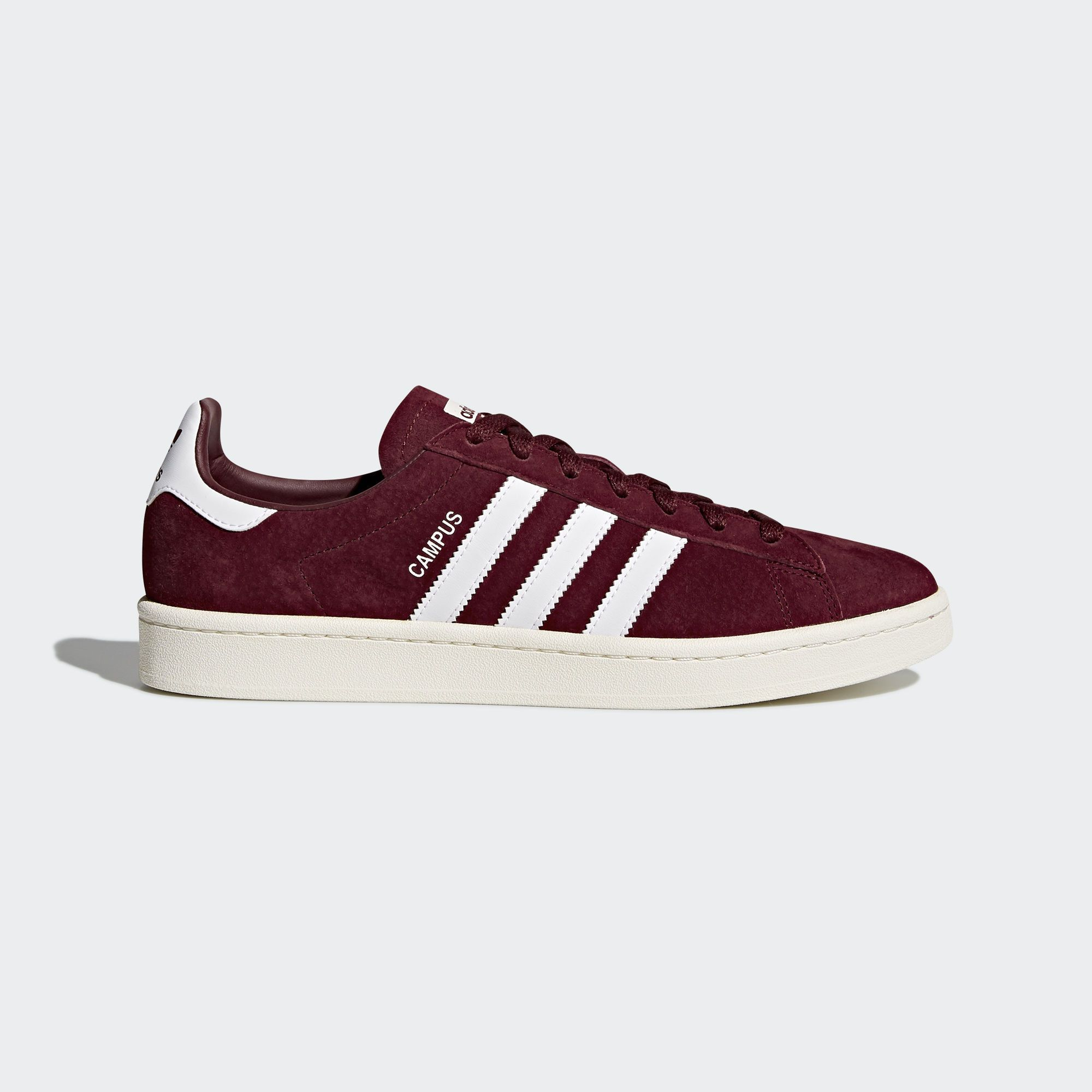 Campus Shoes Burgundy 4 Mens in 2019 | Adidas