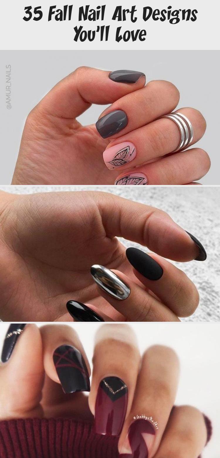 Photo of 35 Fall Nail Art Designs You'll Love – Design