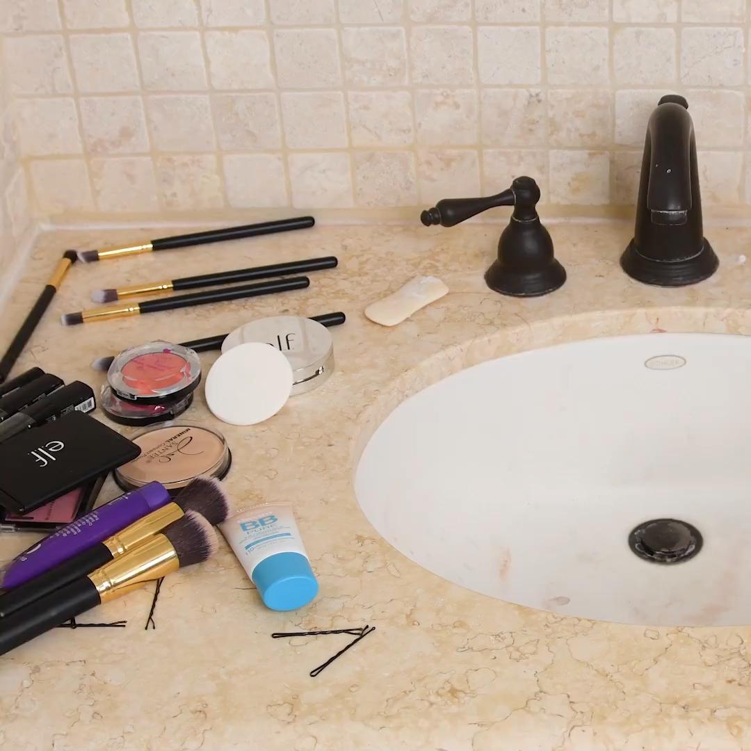 7 Easy hacks to upgrade your bathroom!#bathroom #easy #hacks #upgrade