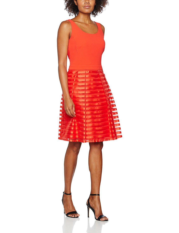 Vera Mont Damen Party-und Abendkleider Kleid Bekleidung | Modische ...