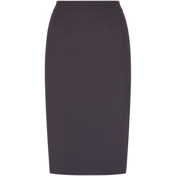 Fenn Wright Manson Orbit Skirt , Granite (7.615 RUB) ❤ liked on Polyvore featuring skirts, granite, slit skirt, knee length pencil skirt, pencil skirts, fenn wright manson and slit pencil skirt