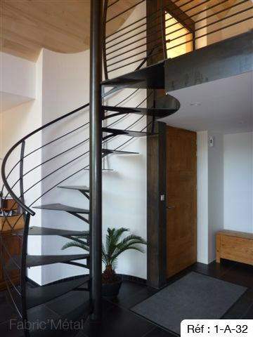 escalier helicoidal qui bouge