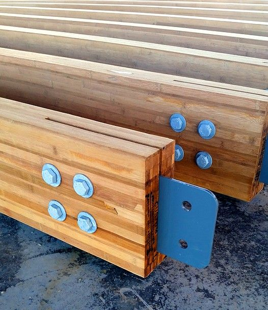 Engineered Wood Beams ~ Engineered bamboo beams and components for structural