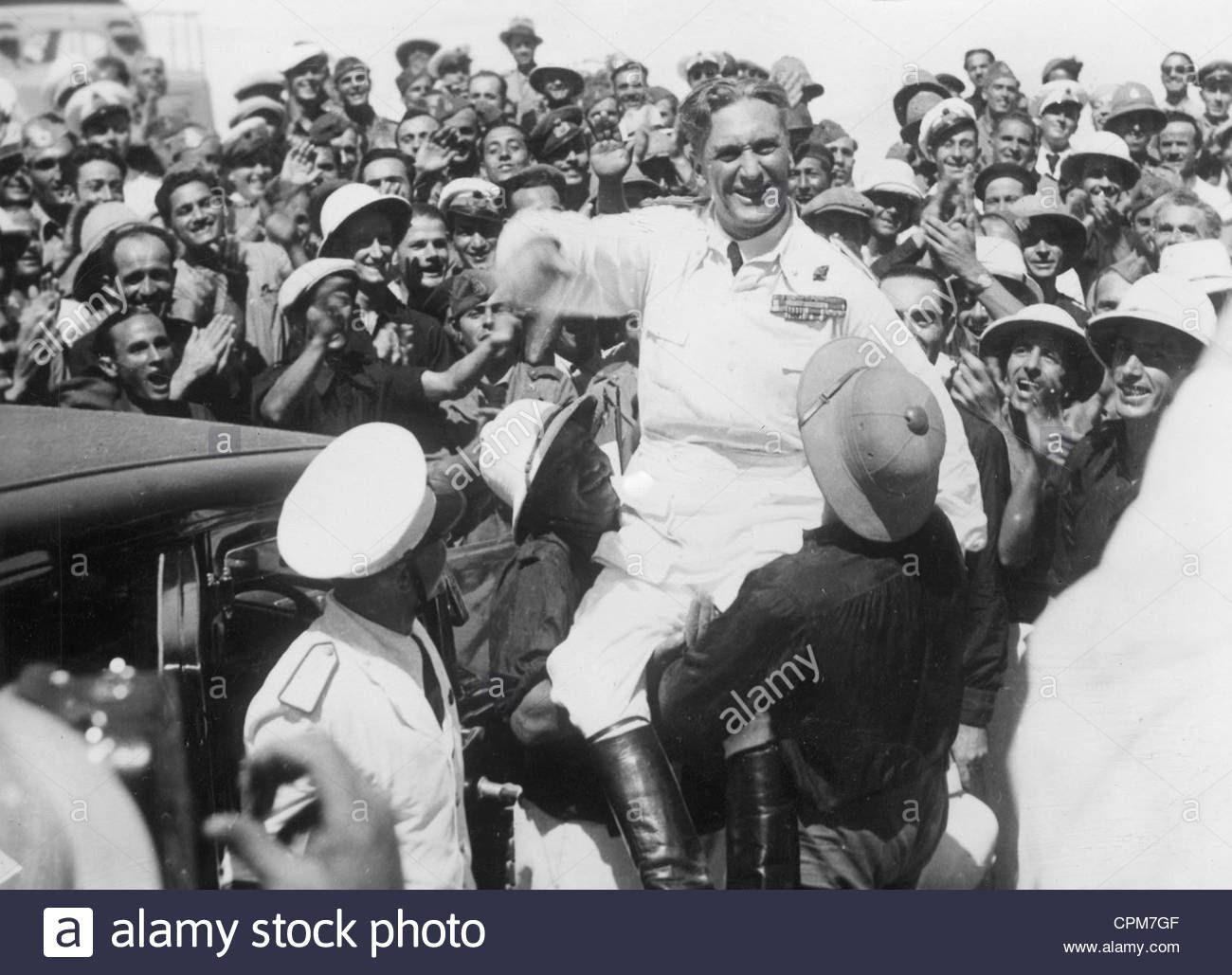 General Rodolfo Graziani Visits Italian Colonists In Abyssinia 1937 Colonial History History Italian Empire