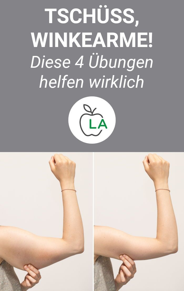Übungen gegen Winkearme - 28 Tage Challenge zum Oberarme Straffen #exercisesforupperback