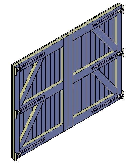 Beroemd Houten poort maken | Для дома | Pinterest | Gardens, Fences and Woods @UV69