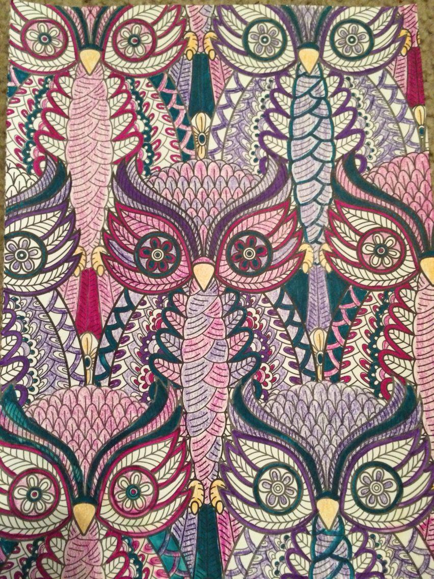 Color art mandala wonders - Living Wonder Color Art