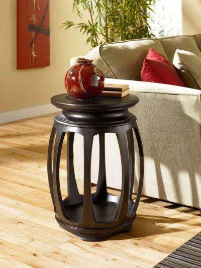 Chow Round End Table By La Z Boy