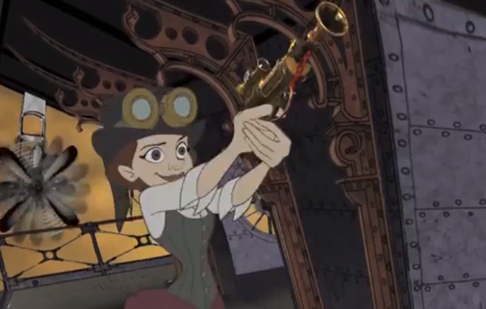Disney Animators Aim To Revive 2d Hand Drawn Animation With Hullabaloo An Independent Animated Steampunk Film Inside The Magic Steampunk Films Animation Disney Drawings