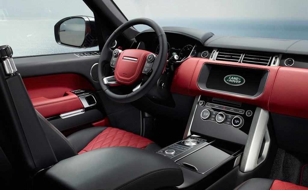 Image result for inside range rover autobiography 2018