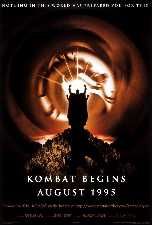 Mortal kombat mortal kombat movie posters 1995 movies