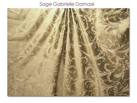 Sage Gabrielle Damask
