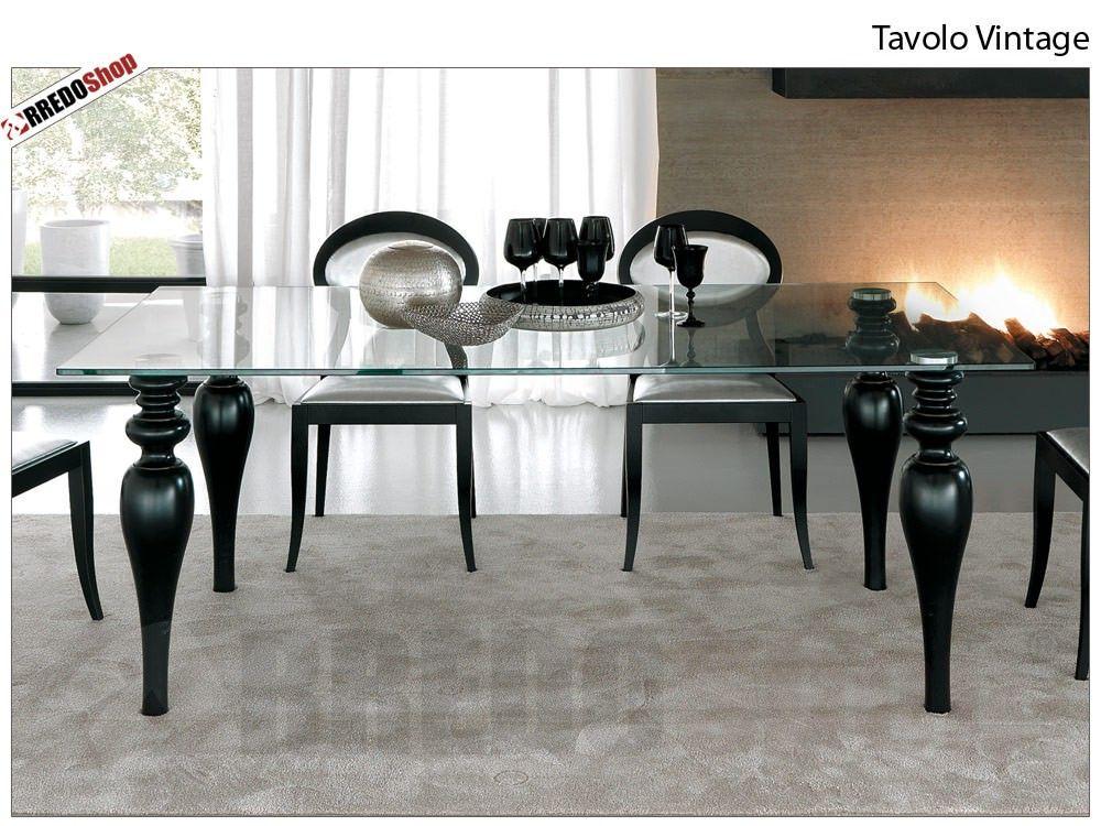 Tavolo rettangolare Vintage Rossetto Armobil | Arredamento ...