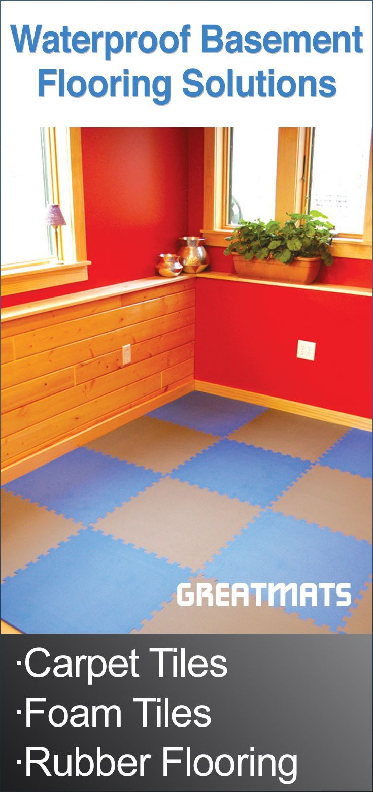 Greatmats has Waterproof Basement Flooring Solutions for