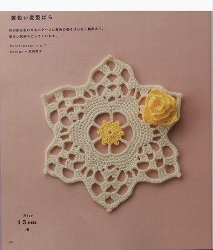 Art: crochet motifs