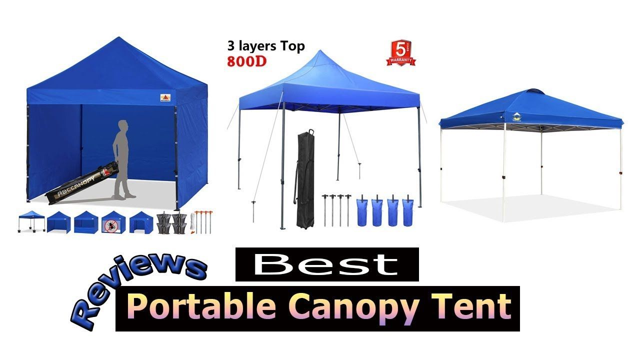 Top 10 Best Portable Canopy Tent Reviews Portable Canopy Canopy Tent Tent
