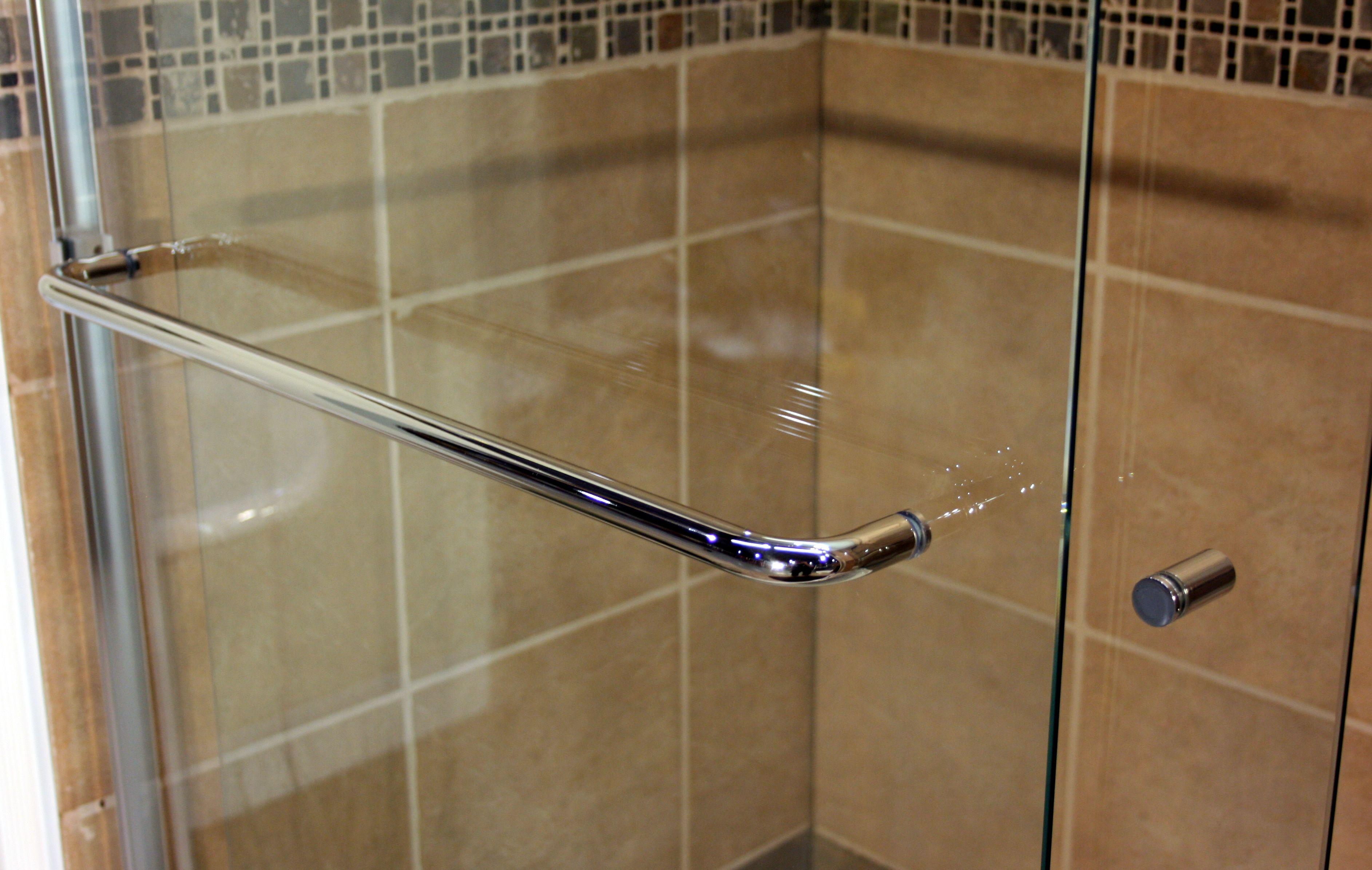 Towel Bar For Glass Shower Door