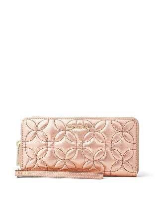 b8d46c5ba8c6 MICHAEL Michael Kors Designer Money Pieces Metallic Travel Continental  Wallet