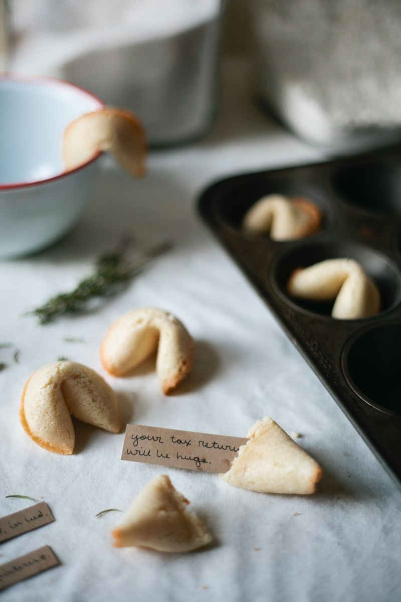 Homemade Fortune Cookies | Molly Yeh (of My Name Is Yeh)