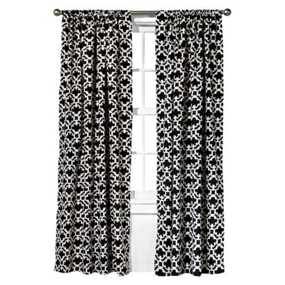 Farrah Fretwork Curtain Panel Threshold Curtains For Grey Walls White Window Panels Curtains