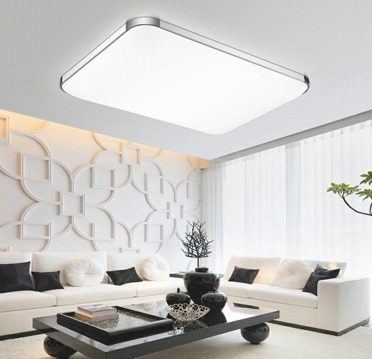 Focos Led Indirectos Para Iluminar El Salon 50 Ideas Luces Para Techo Iluminacion De Leds Para Casa Luces Led De Techo