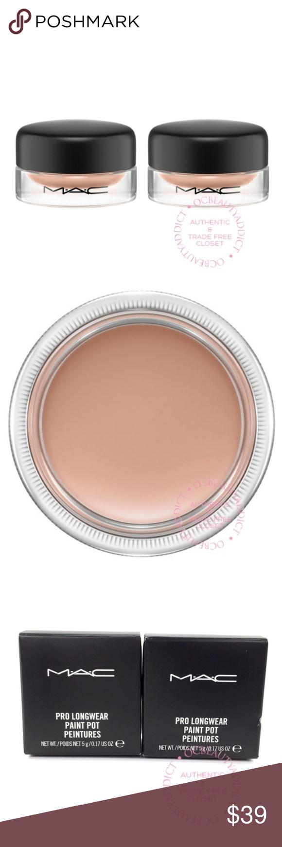 2x MAC Cosmetics Pro Longwear Paint Pot Painterly