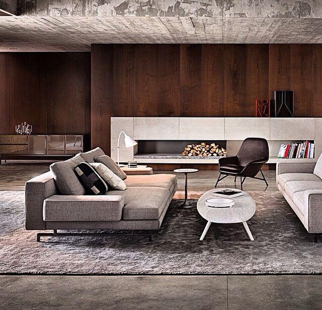 Industrial Home Design Endüstriyel Ev Tasarımları: Decoração Sala Estar, Sala