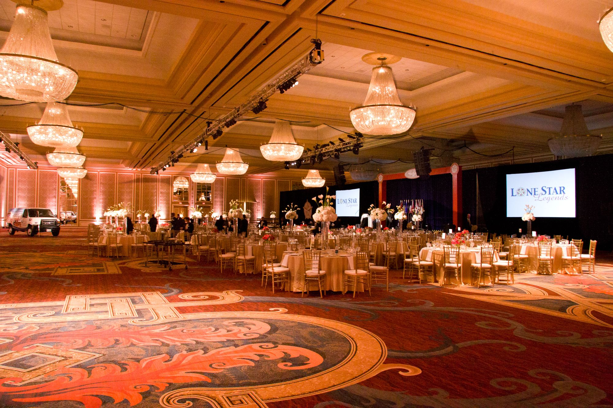 Audio visual by BEYOND for this great event in Dallas. www