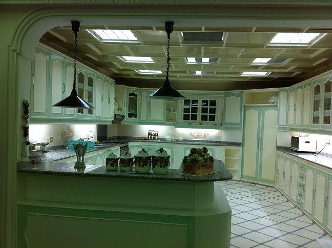 ديكورات مطابخ 4 4 صورة للمطبخ مفتوح على الصالة الرئيسية Kitchen Design Design Kitchen