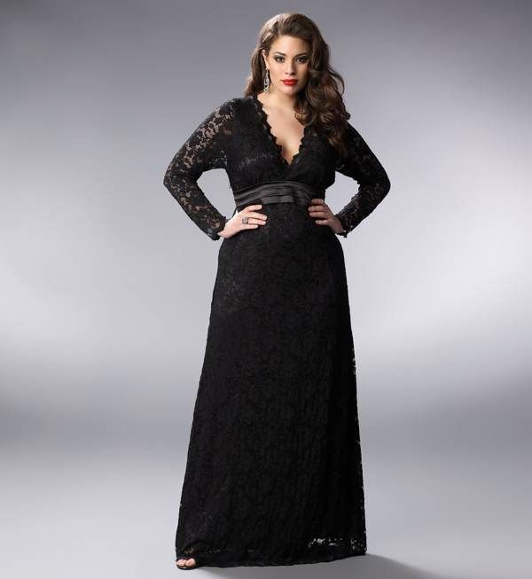 Ladies in black dresses | black-tie-dresses-plus-size-women ...