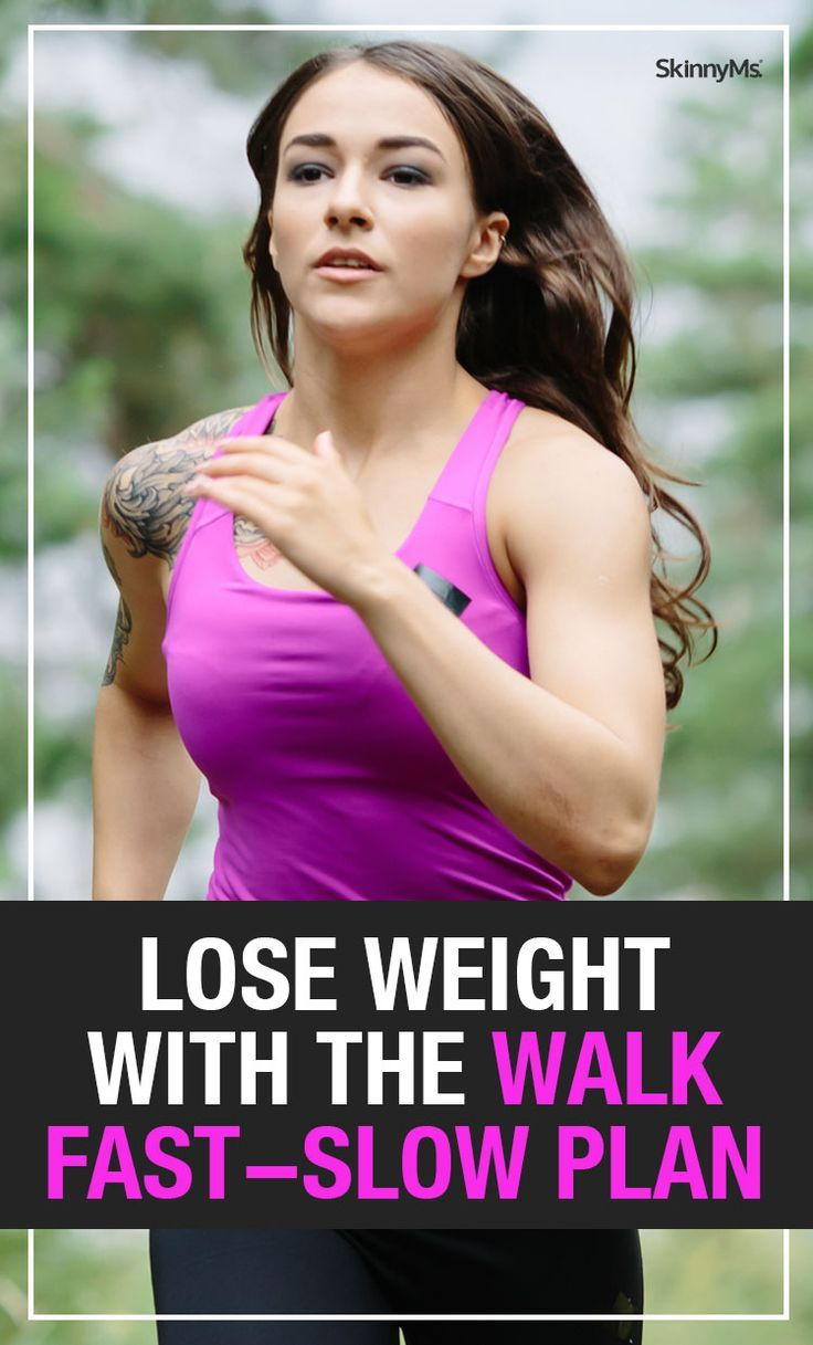 Lose Weight with the Walk FastSlow Plan