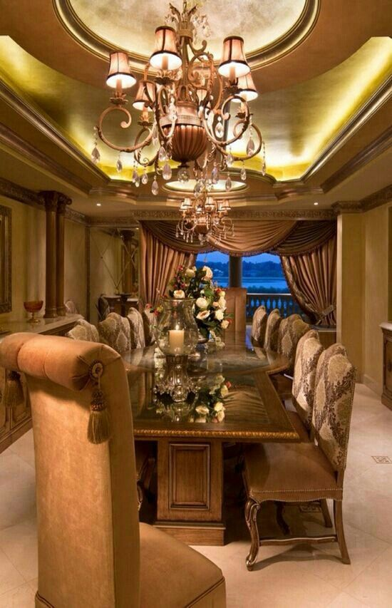 Luxury Formal Dining Room Sets: Everything About This Dining Room Is Formal