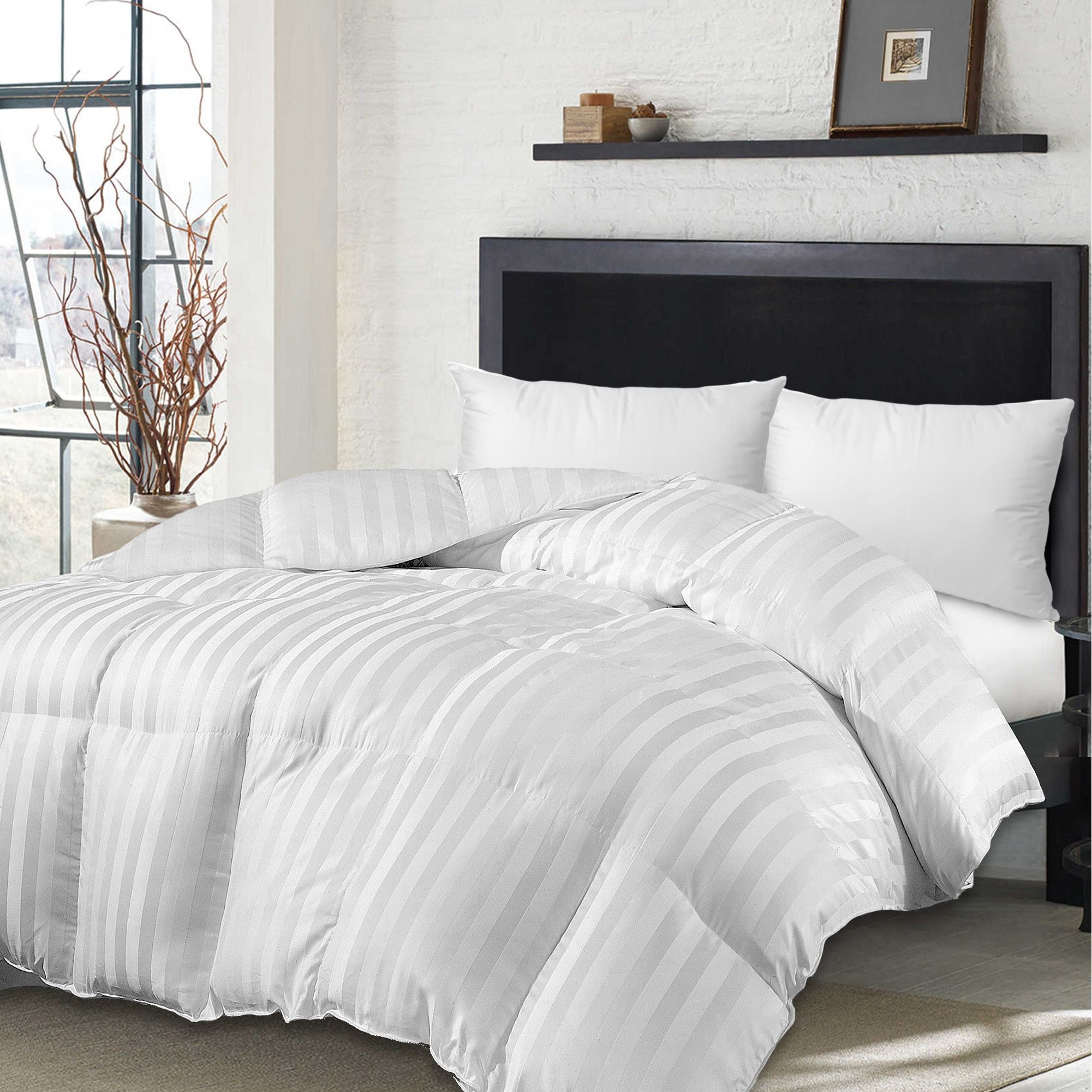 Hotel Grand Oversized 500 Thread Count Siberian White Down
