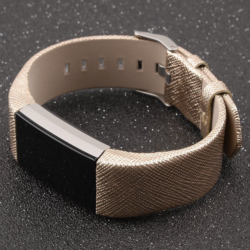 Amazon henoda genuine leather bands for fitbit charge
