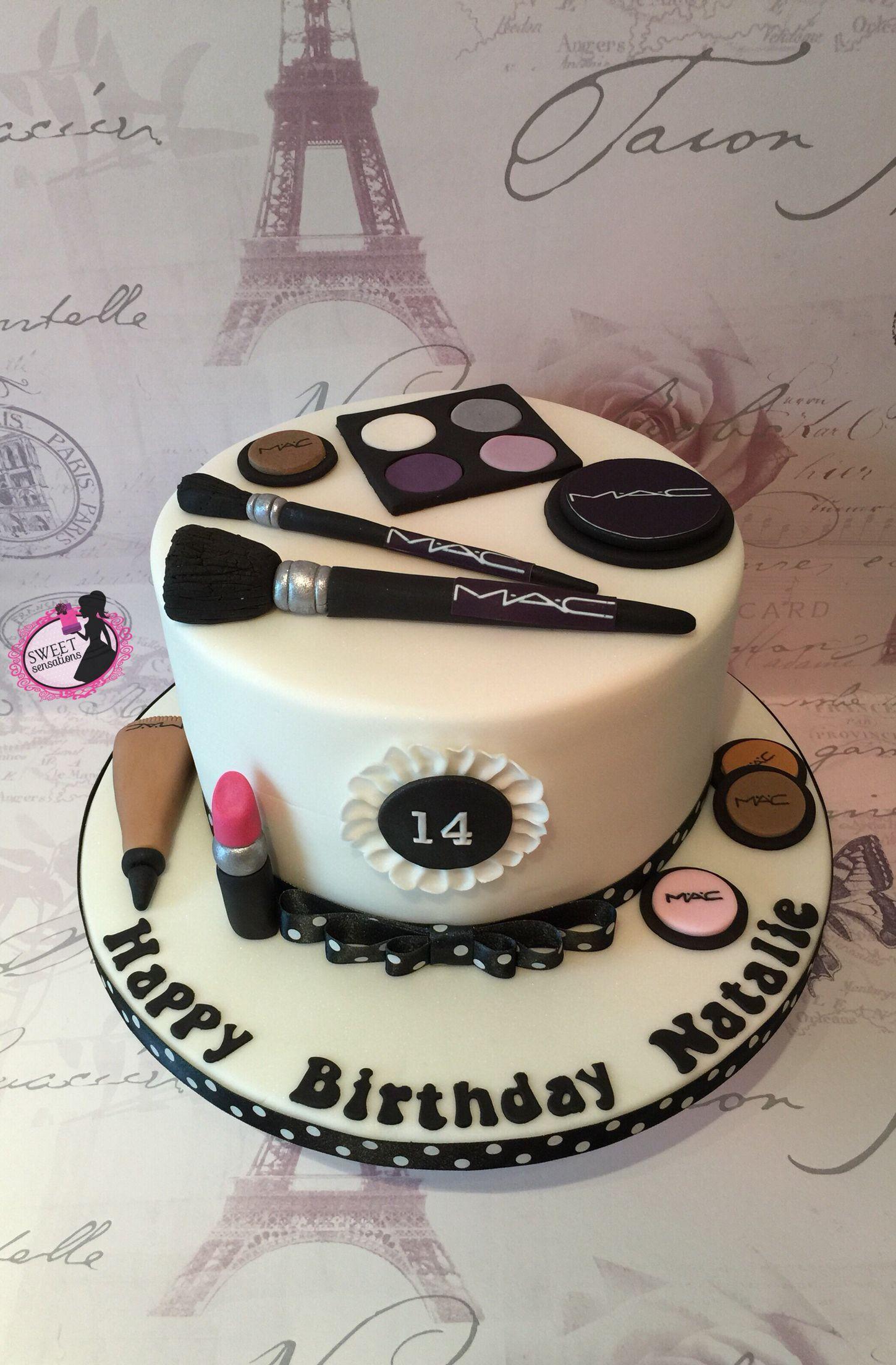 Mac Make Up Cake Pinteres