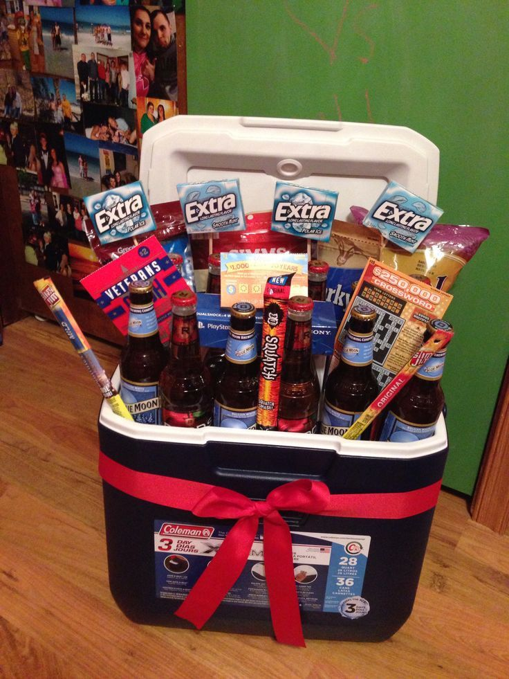 22 Best Cooler Gift Basket Ideas 21st birthday gifts for