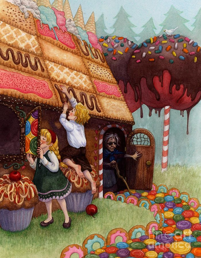 Hansel And Gretel By Isabella Kung Hansel And Gretel House Fairytale Art Fairy Tales