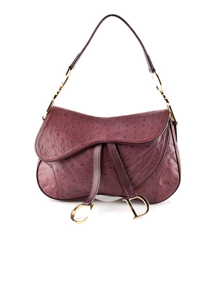 f6c32e7211e Christian Dior Ostrich Hobo. #christiandior #ostrich #handbag | Bag ...