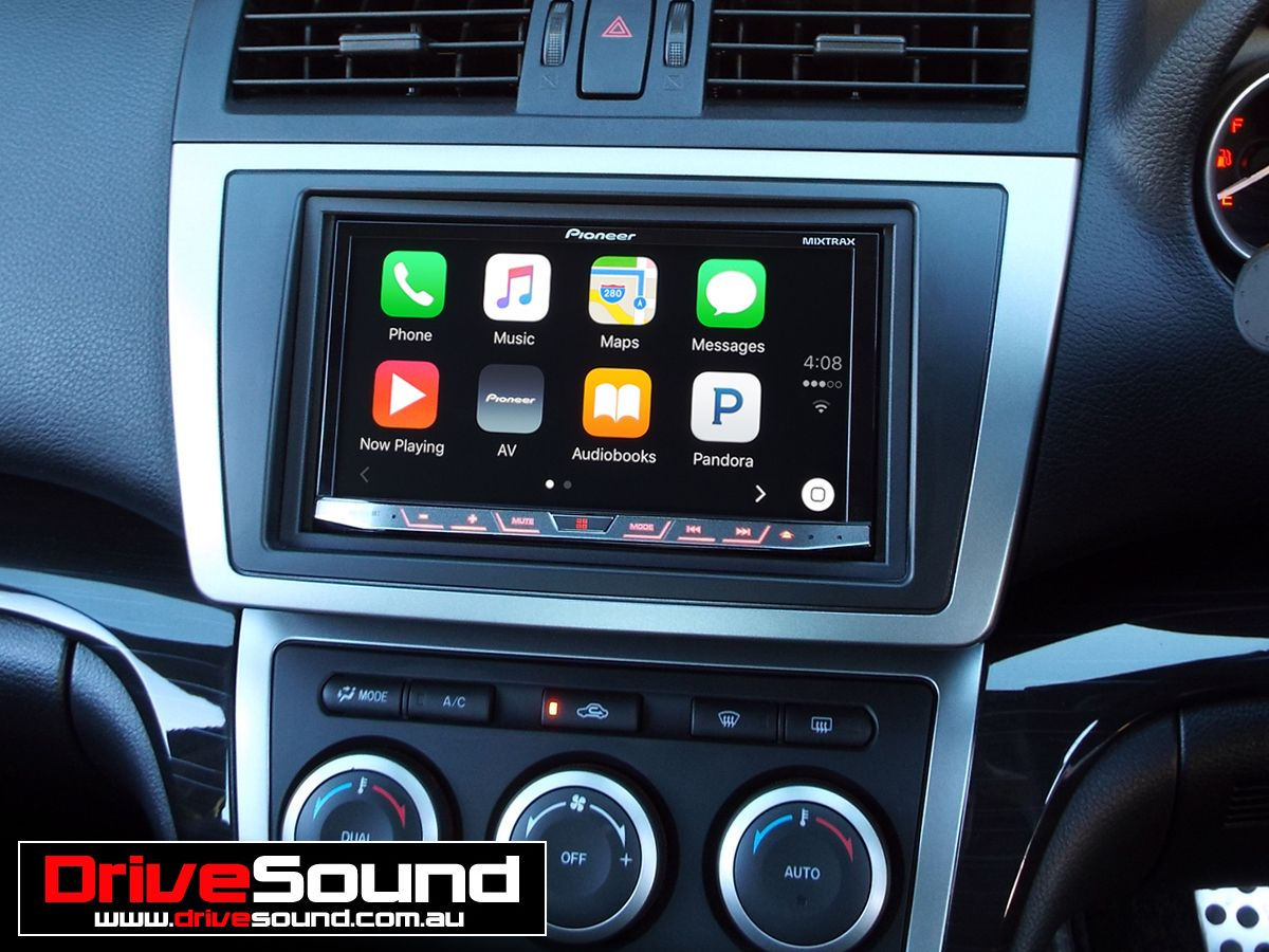 mazda 6 with apple carplay installed by drivesound. Black Bedroom Furniture Sets. Home Design Ideas