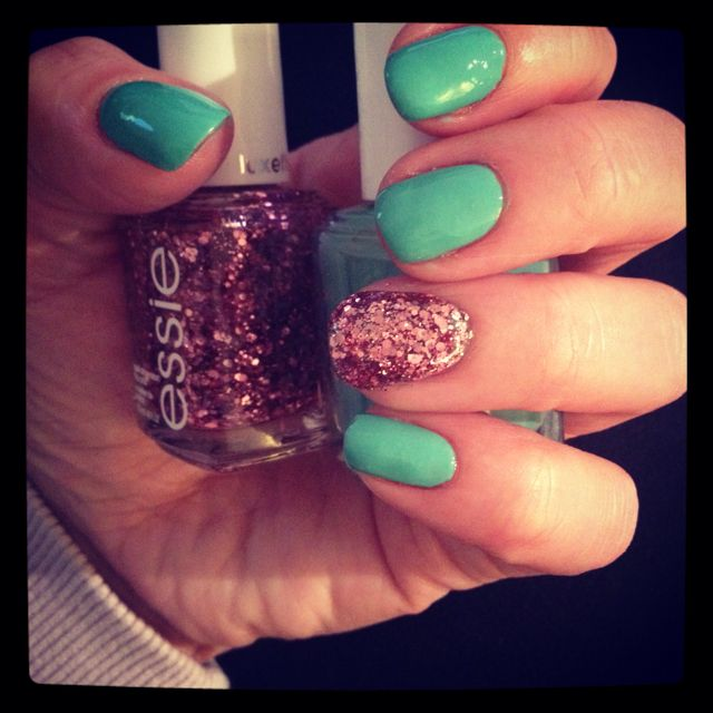 love this one glittery nail by Essie nails....gotta try it | Calm ...