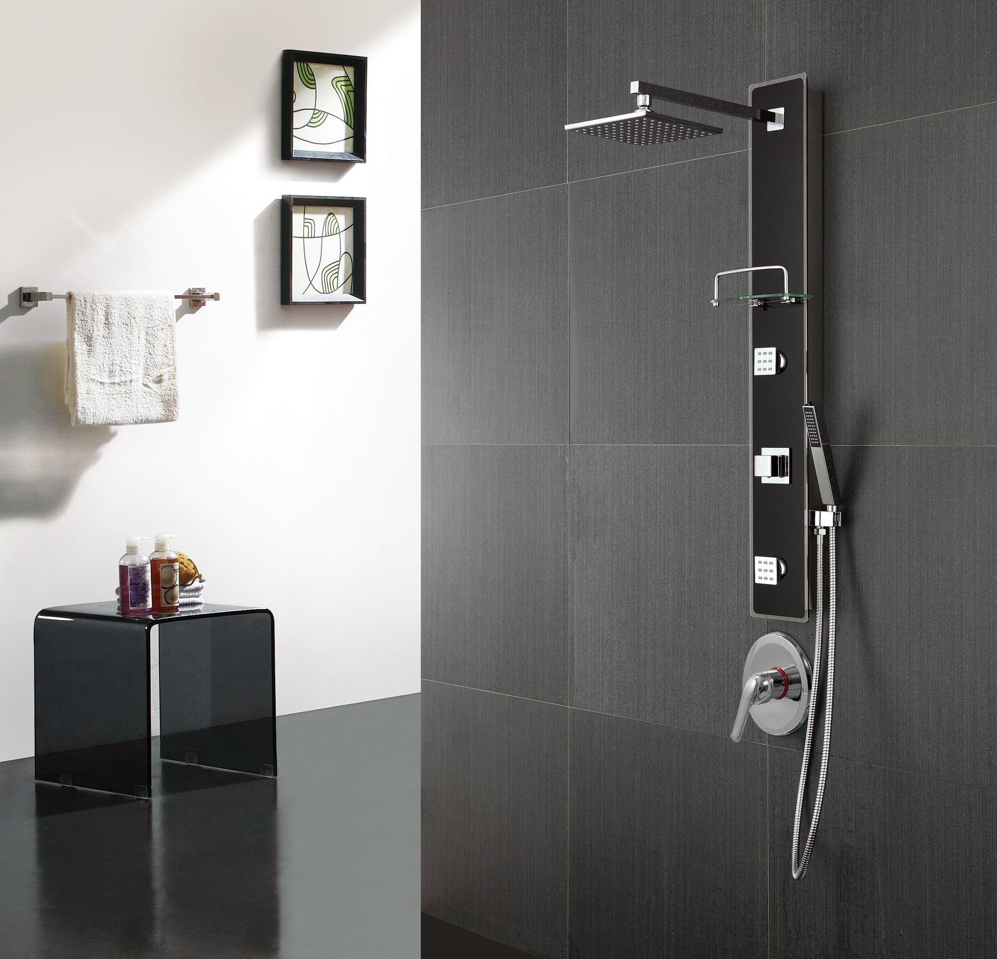 Found it at Wayfair - Diverter Shower Panel | Bathroom | Pinterest ...